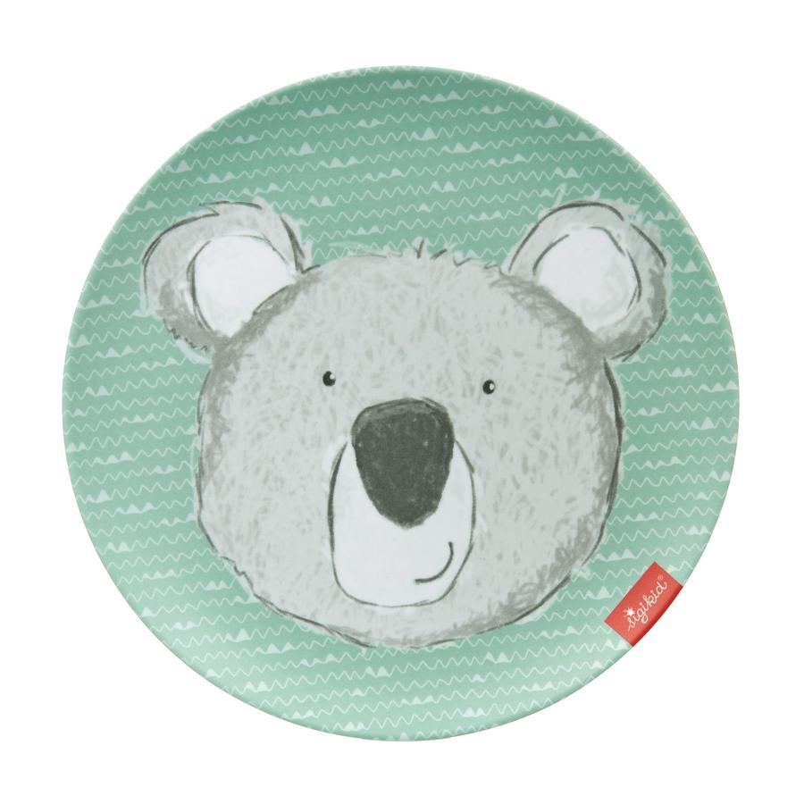 sigikid® Melamin-Teller Koala grün