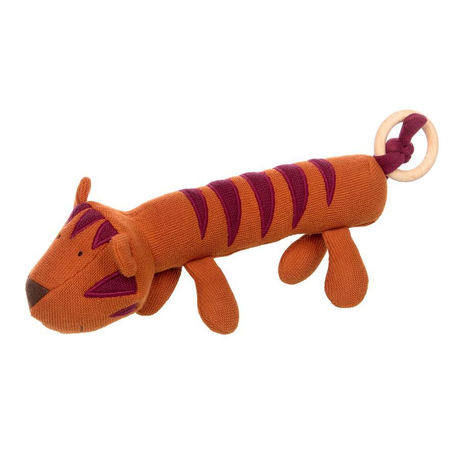 sigikid® Strick-Greifling Tiger orange
