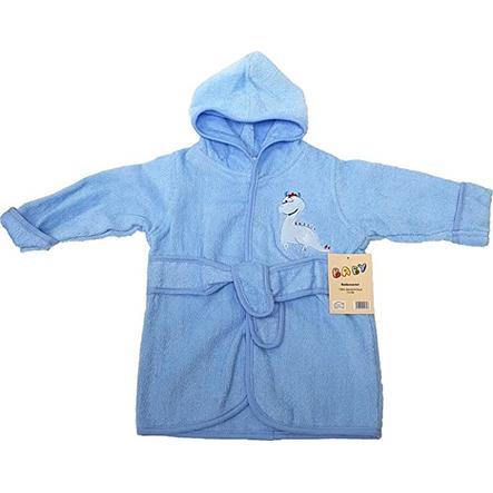 HÜTTE & CO Peignoir de bain enfant bleu