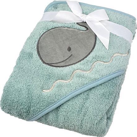 HÜTTE & CO badehåndklæde med hætte mint