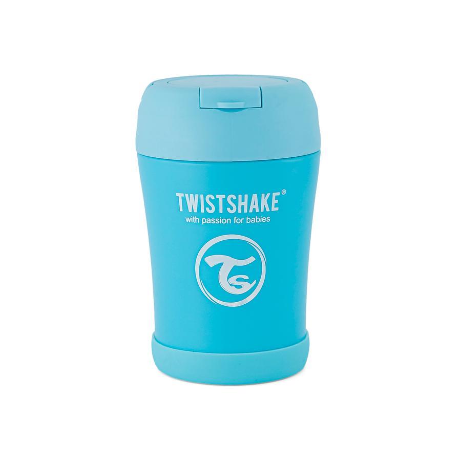 TWIST SHAKE  Termální nádoba 350 ml v pastelově modré barvě