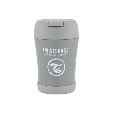 TWIST SHAKE Termisk beholder 350 ml i pastellgrå