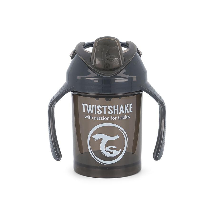 TWIST SHAKE  Mini hrneček od 4 měsíců 230 ml v černé barvě
