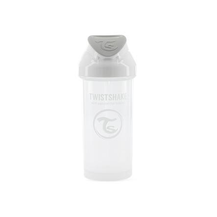 TWISTSHAKE Strohhalmflasche Straw Cup 360 ml 6+ Monate pastel weiß