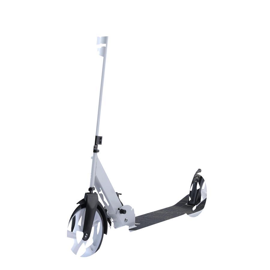 bikestar BLUE GORILLAZ Klapp Kinderroller 205 mm Lowrider Weiß