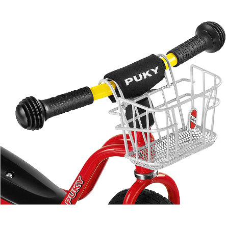 PUKY Handlebar Basket LKL silver for all Learner Bikes