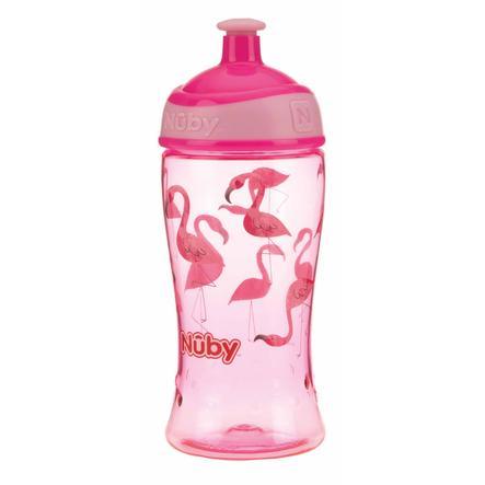 Nûby tazza da bere Pop-up tritan 360 ml in rosa