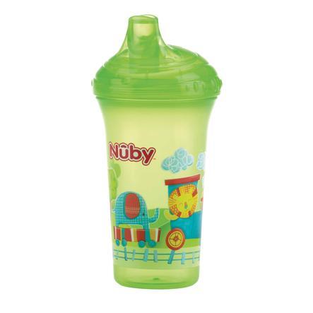 Nûby auslaufsicherer Trinkbecher Color mit Motiv 270 ml in green