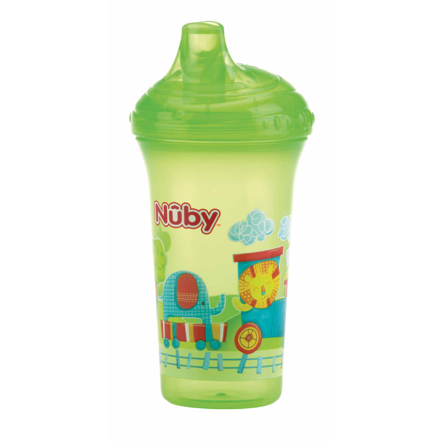 Nûby hrnek na pití odolný proti rozlití Color s motivem 270 ml v green