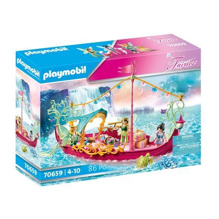 PLAYMOBIL ® Fairies Romantic Fairy Boat 70659