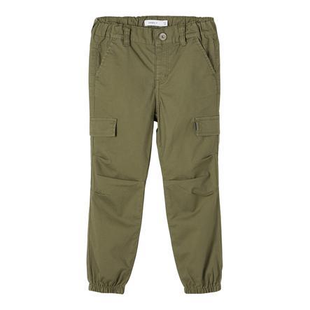 name it Cargo Pants Nmmbob Ivy Green