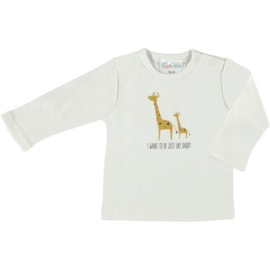 pink or blue camicia a maniche lunghe Animals
