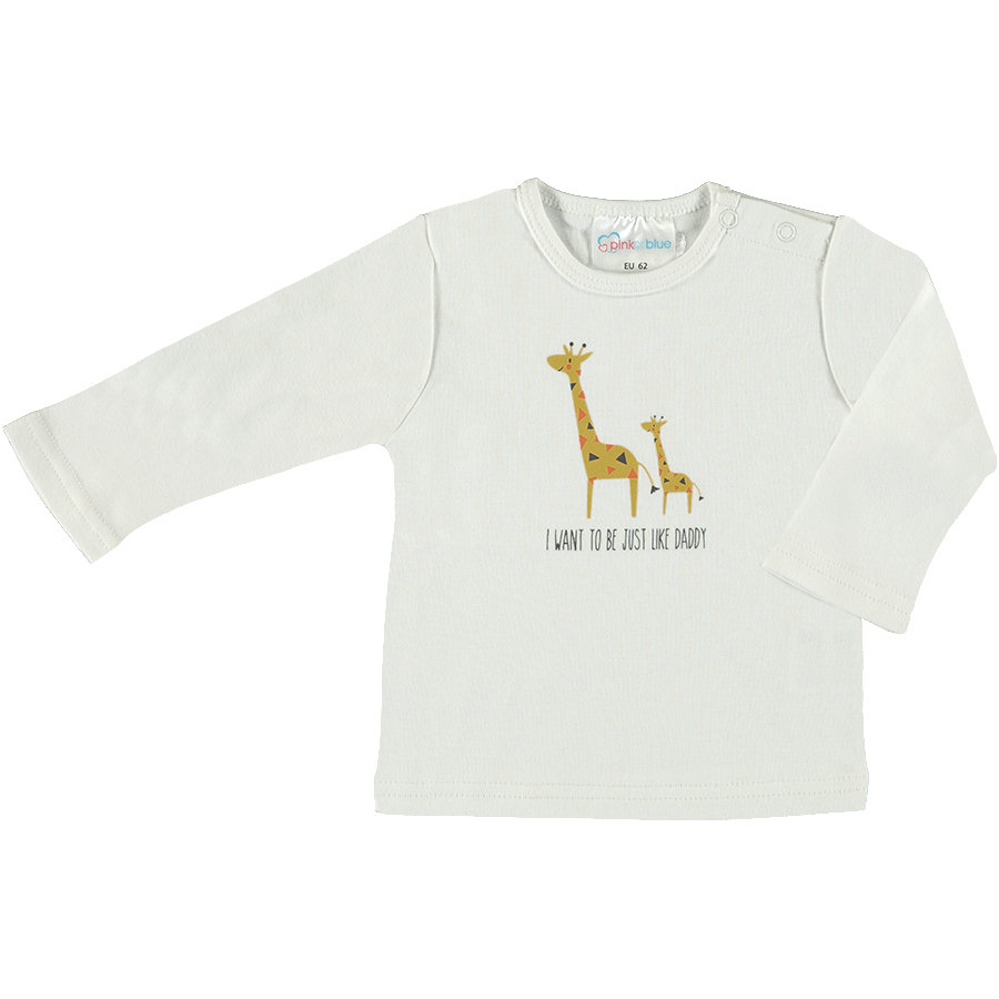 pink or blue overhemd met lange mouwen Animals