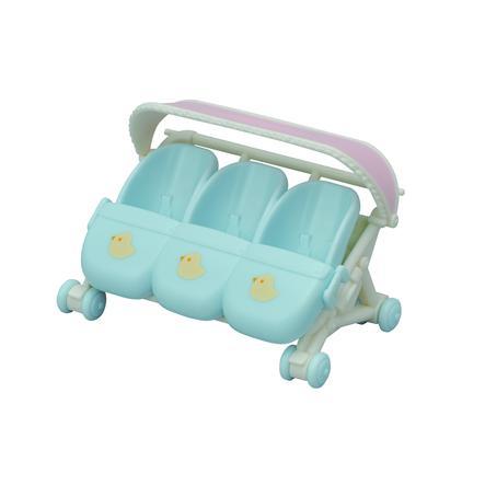 Sylvanian Families® Drillings- Kinderwagen