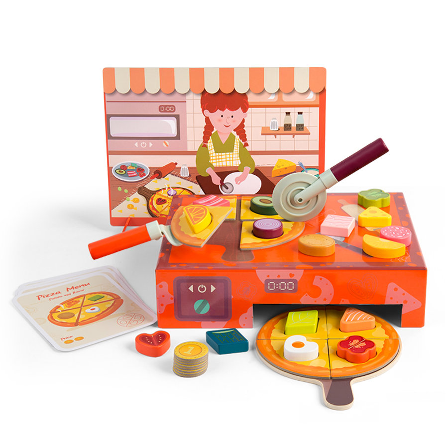 Top B right   Toys® Moulds Learning Box - Pizza Bakery