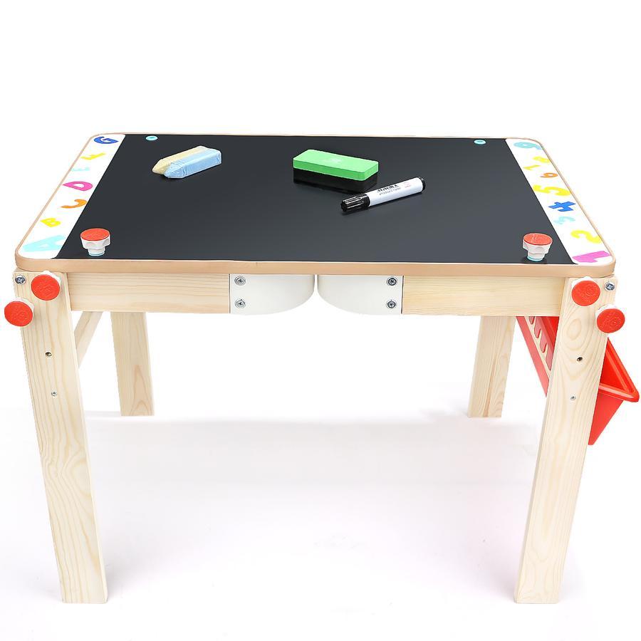 TopBright Toys® Tableau de dessin enfant 2en1 bois