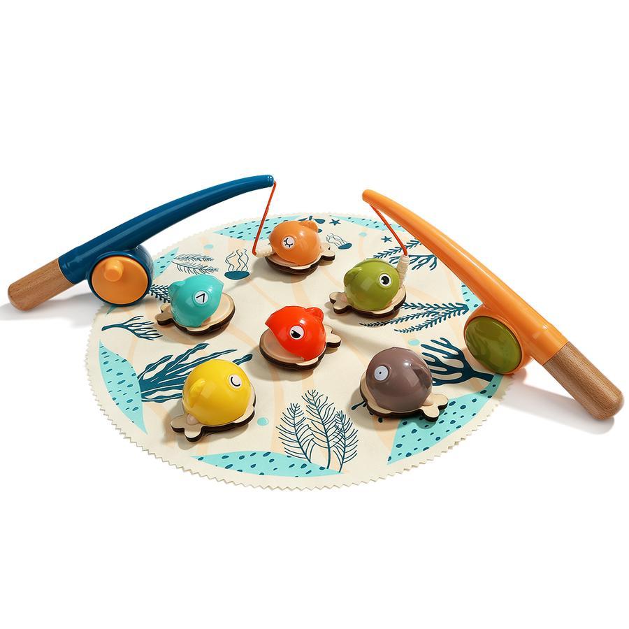 Top B right   Toys® Magnetická rybářská hra Bahamy, 9 ks.
