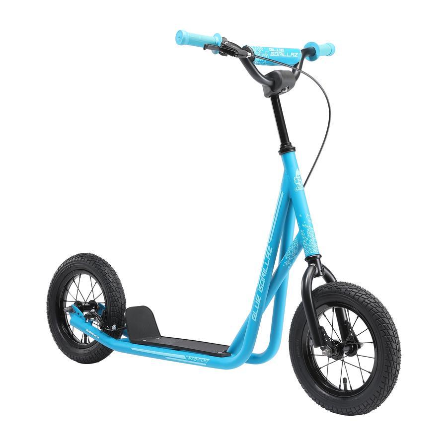 BLUE GORILLAZ Kinder Scooter City Roller Blau