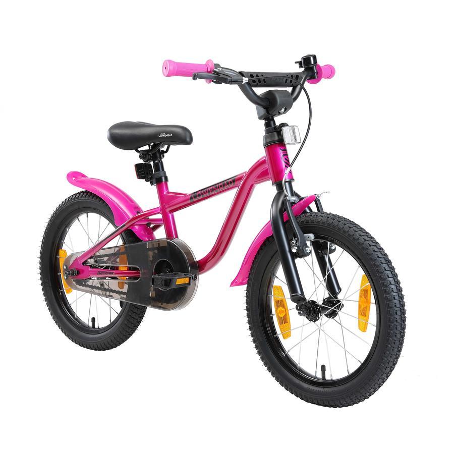 LÖWENRAD Kinder Fahrrad | 16 Zoll Räder | Berry