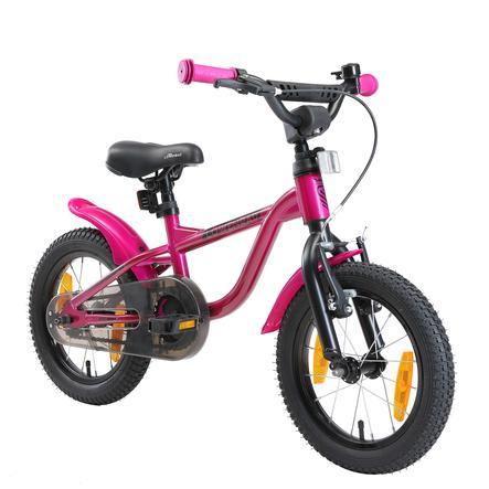 LÖWENRAD Kinder Fahrrad | 14 Zoll Räder | Berry