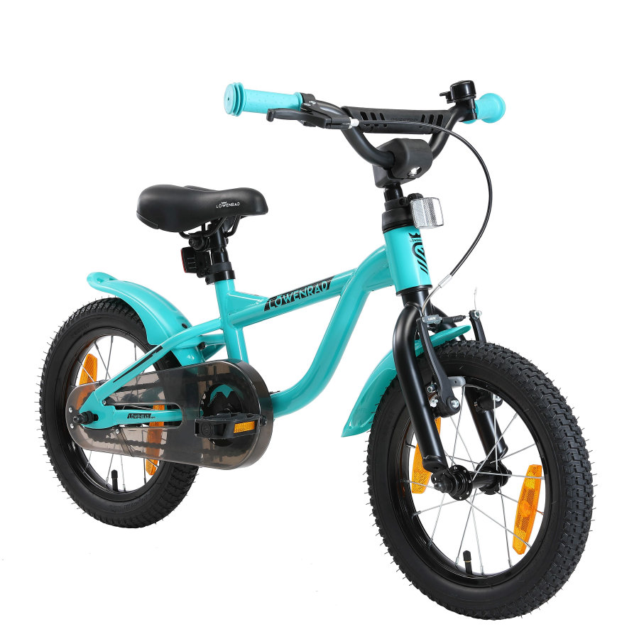 LÖWENRAD Børnecykel | 14 tommer hjul | Mint
