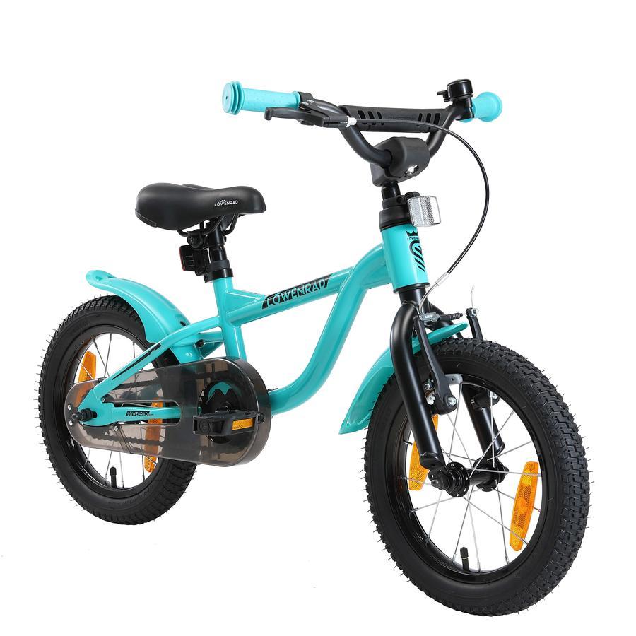 LÖWENRAD Kinder Fahrrad | 14 Zoll Räder | Mint
