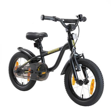 LÖWENRAD Kinder Fahrrad   14 Zoll Räder   Schwarz