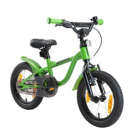 LÖWENRAD Kinder Fahrrad | 14 Zoll Räder | Grün