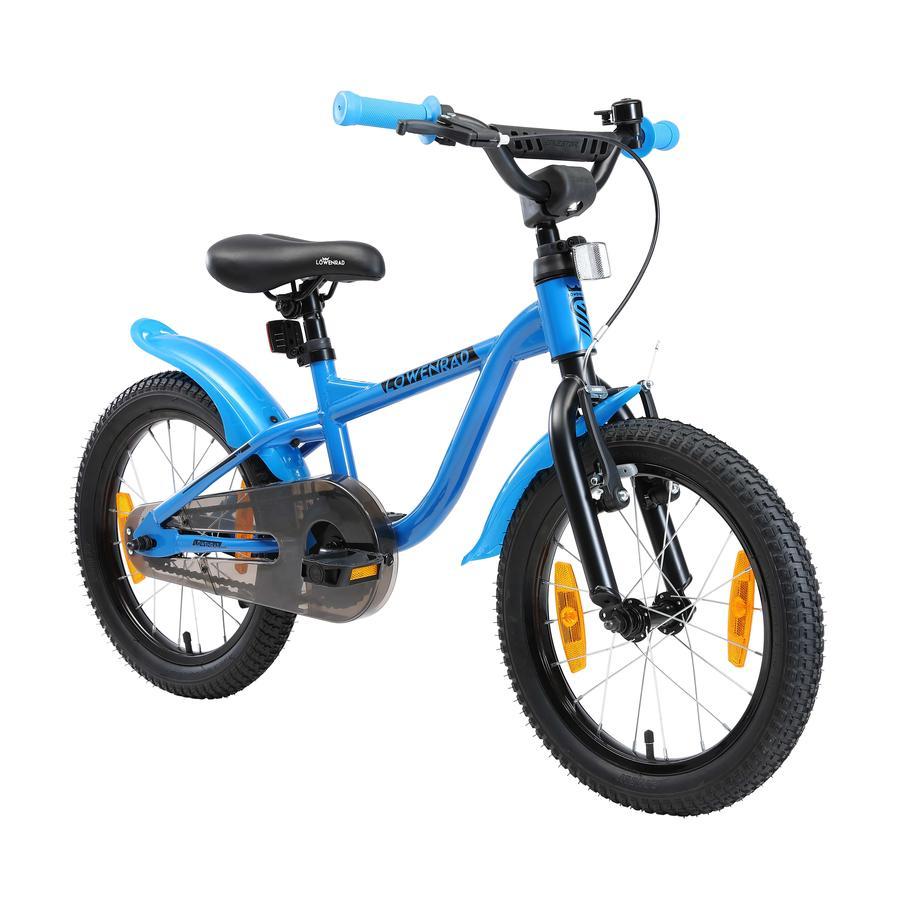 LÖWENRAD Kinder Fahrrad | 16 Zoll Räder | Blau