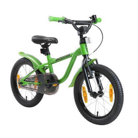 LÖWENRAD Kinder Fahrrad   16 Zoll Räder   Grün