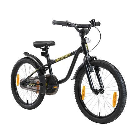 LÖWENRAD Kinder Fahrrad   20 Zoll Räder   Schwarz