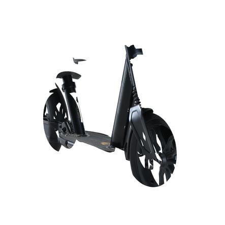 BIKESTAR Fuld affjedring Aluminium børnehjul   10 tommer hjul   Sort