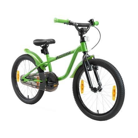 LÖWENRAD Kinder Fahrrad | 20 Zoll Räder | Grün