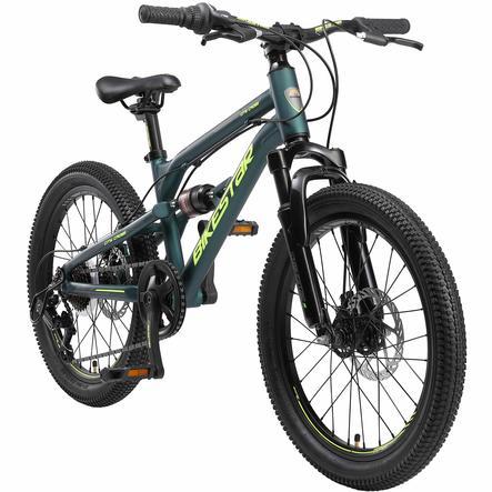 BIKESTAR Alu Kinder Jugend Mountainbike   20 Zoll Räder   Petrol