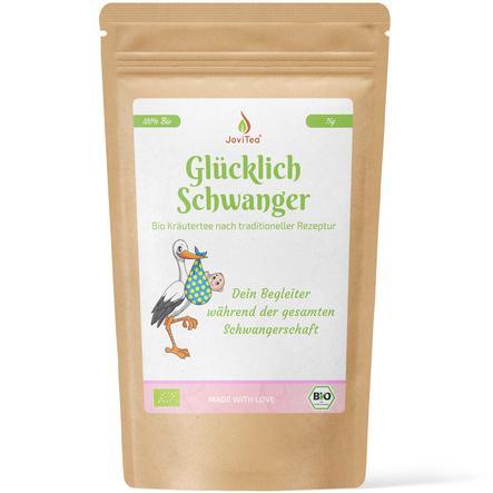 JoviTea Kräutertee Bio Glücklich Schwanger 75 g