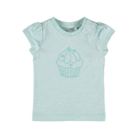 name it T-Shirt Nbfhanne Pastel Turquoise