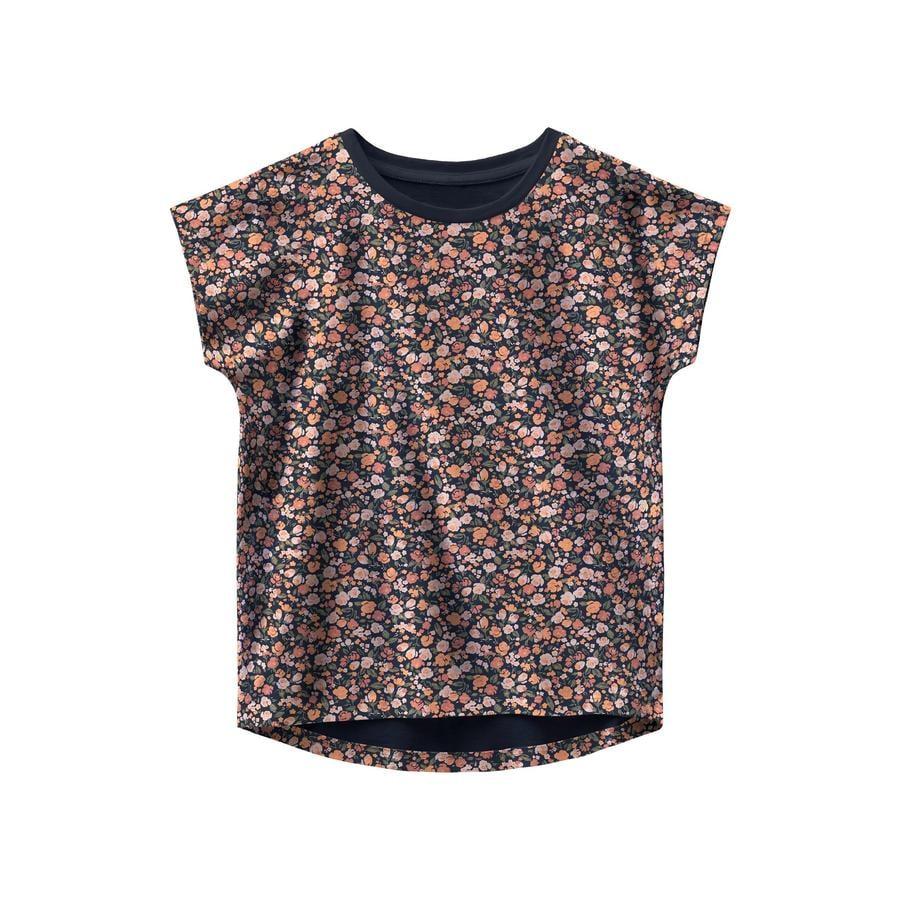 name it T-Shirt Nmfvigga Dark Sapphire petit flower