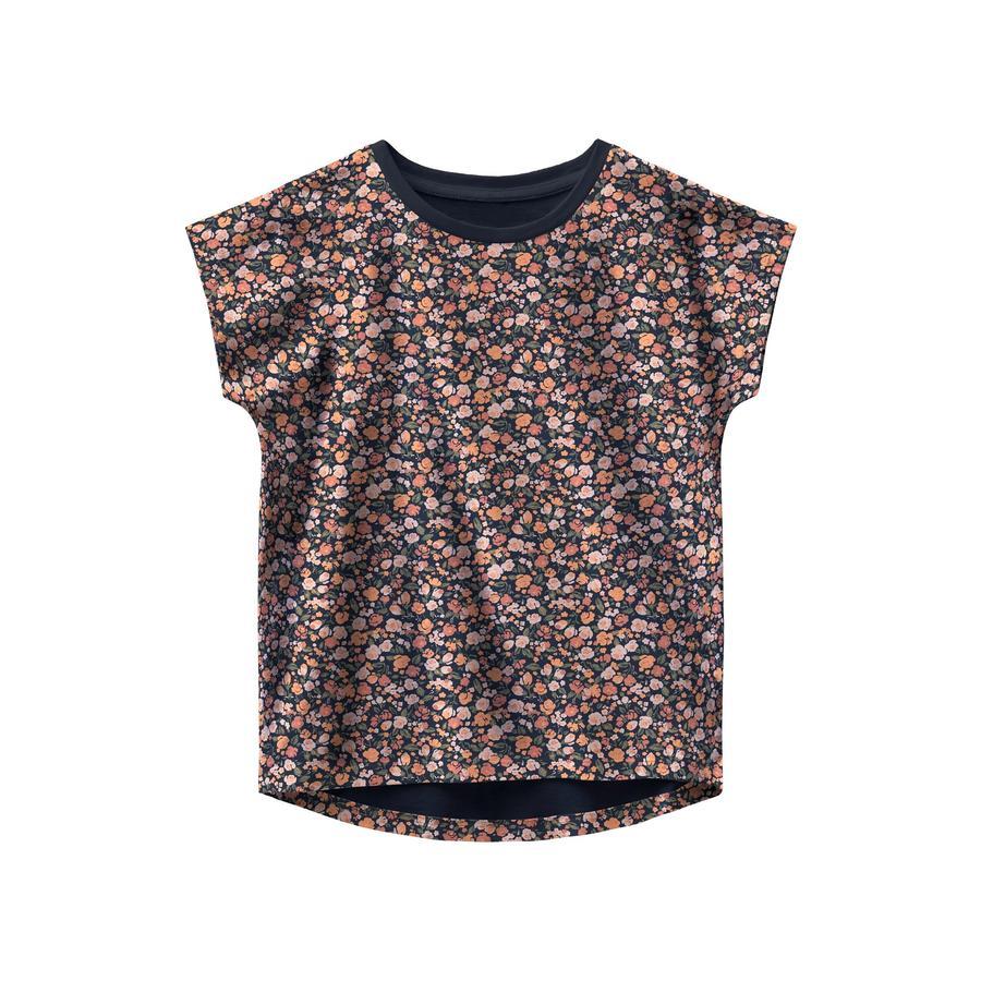 name it T-shirt Nmfvigga Dark Sapphire small flower