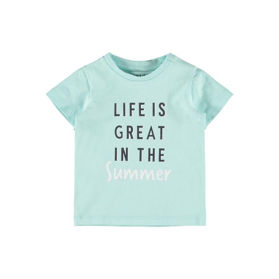 name it T-Shirt Nbmhektor Blue Tint