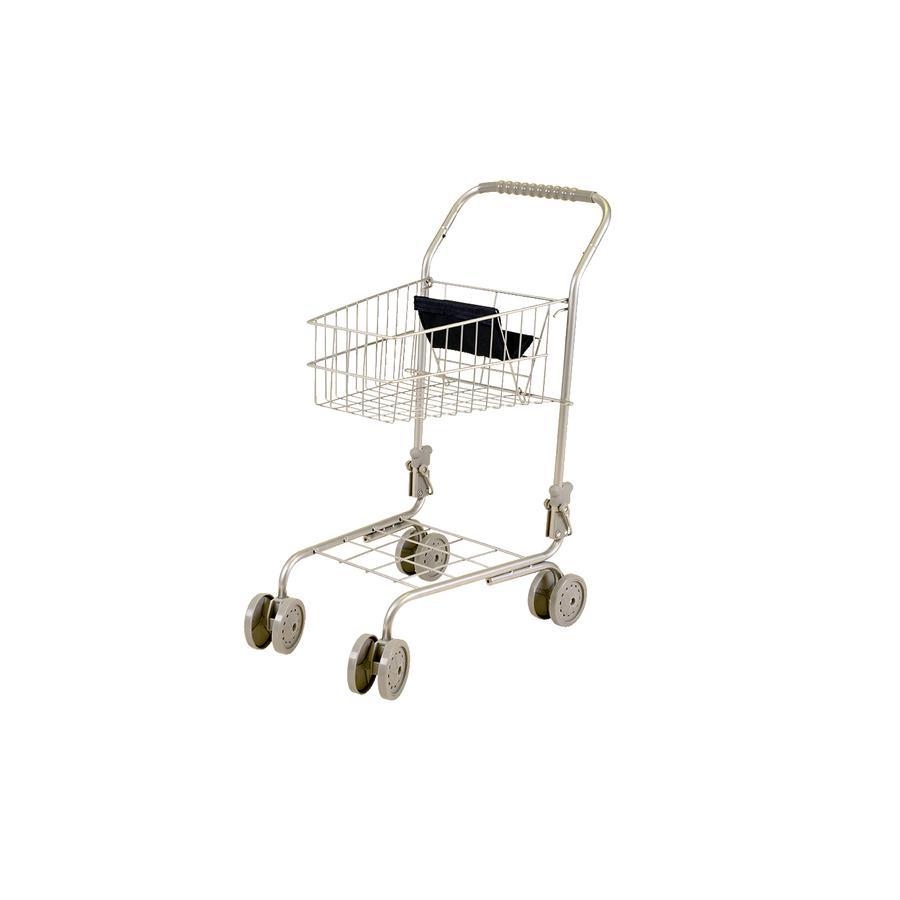 knorr® giocattoli carrello della spesa Take Me bianco/marrone