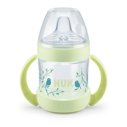 NUK Trinklernflasche Nature Sense 150 ml in grün
