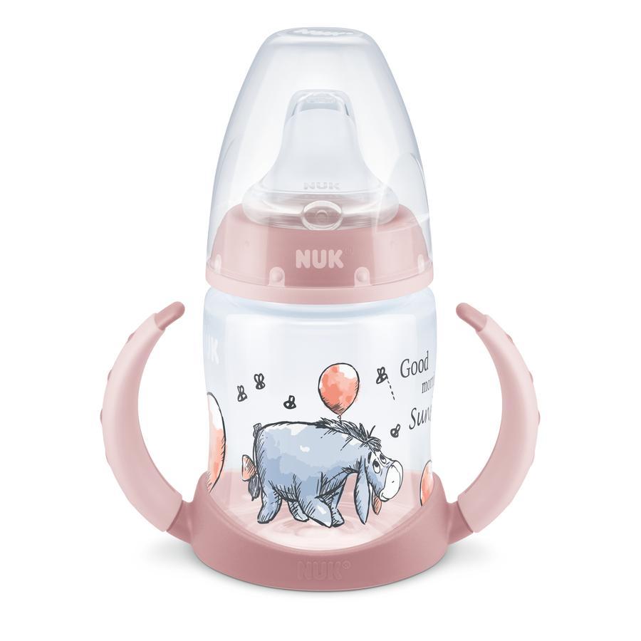 NUK Trinklernflasche First Choice Disney Winnie Puuh in rosa