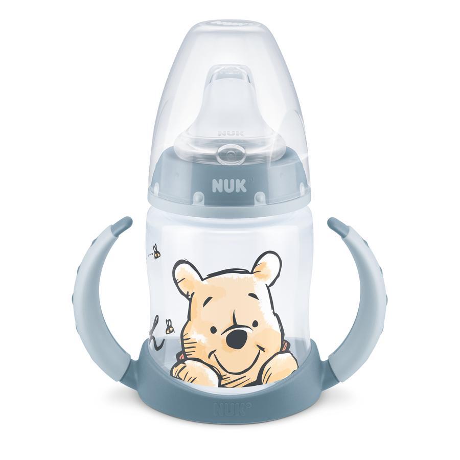 NUK Trinklernflasche First Choice Disney Winnie Puuh in blau