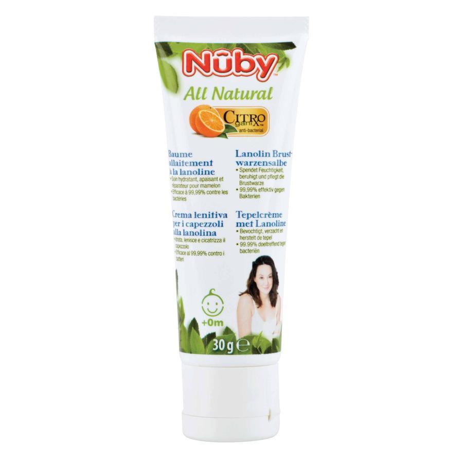 Nûby Crema lenitiva per capezzoli alla lanolina All Natural 30