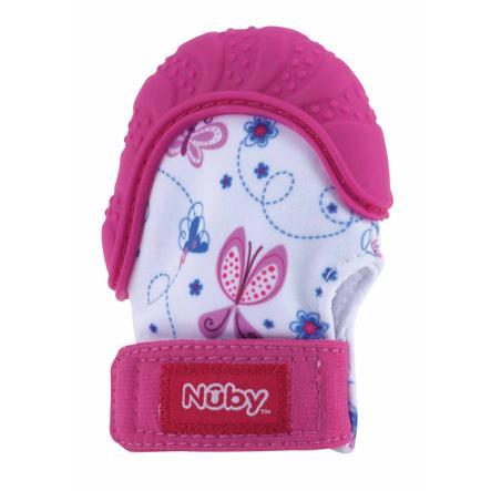 Nûby Beißhandschuh Happy Hands in pink