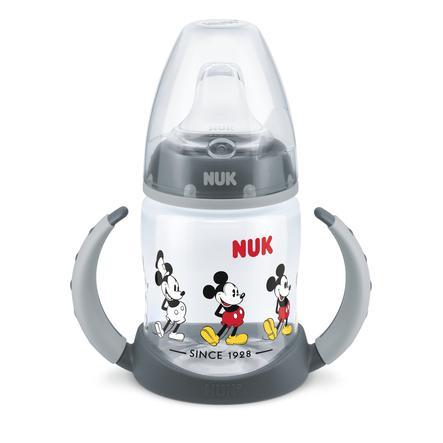 NUK Trinklernflasche First Choice Mickey Maus 150 ml, grau