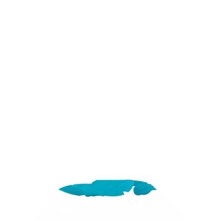 Nûby Beißball aus Silikon in aqua