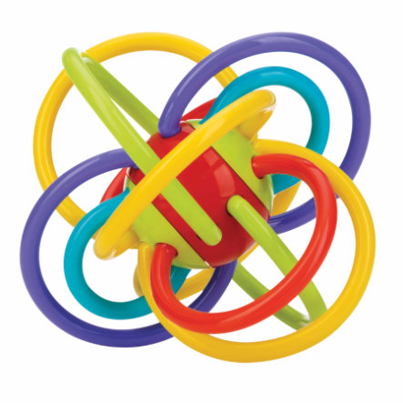 Nûby kousací kroužek v barevném provedení