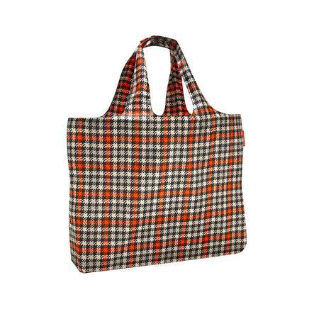 reisenthel ® mini maxi plážová taška glencheck červená