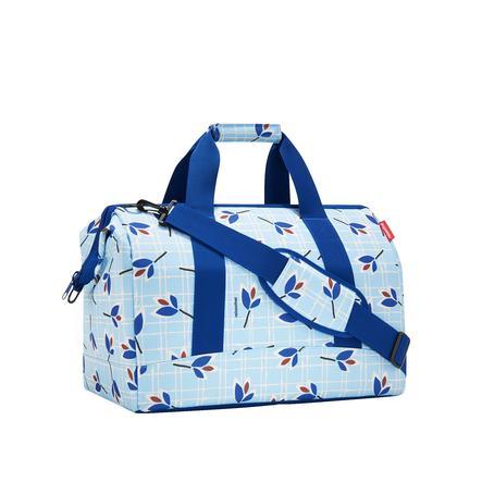 reisenthel® Sac de voyages enfant allrounder L leaves blue